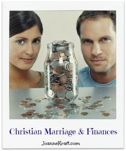 christian marriage and finances