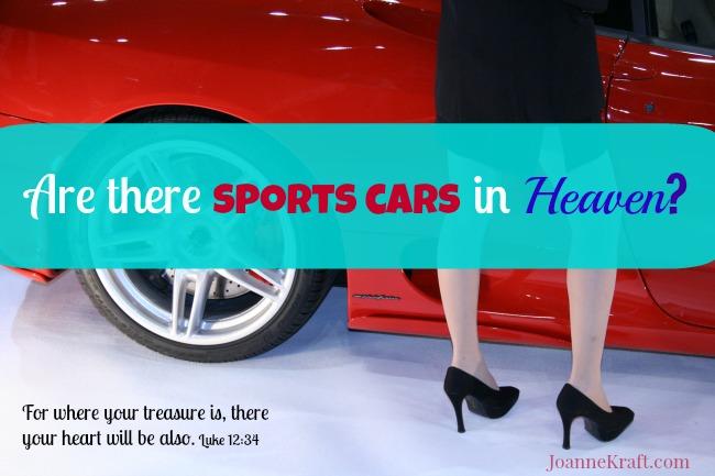 JoanneKraft.com sportscars where your treasure is