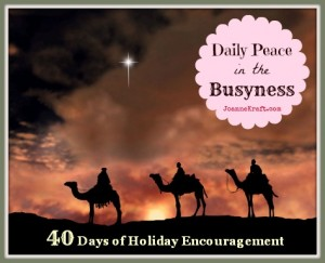 40 Days of Encouragement – Begins this Saturday!