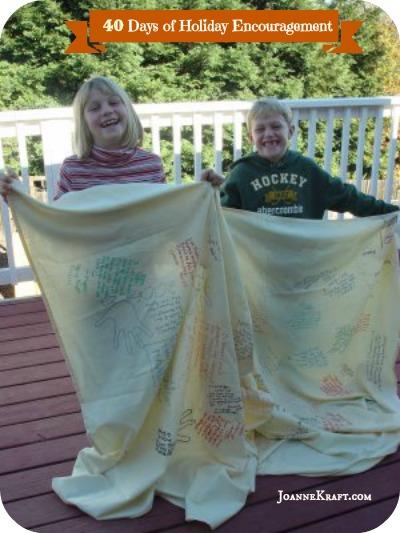 40 days tablecloth
