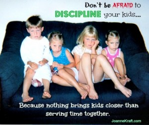 Don't Be Afraid to Discipline Bickering Kids!