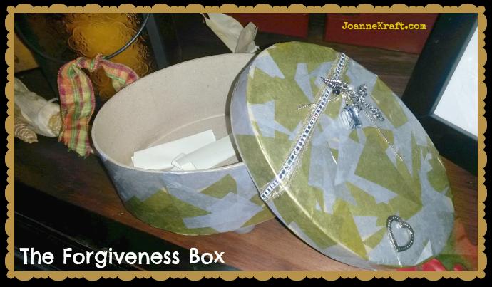 JoanneKraft.com forgiveness box prayer box