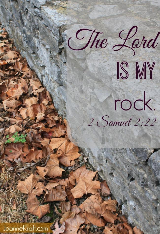 JoanneKraft.com the lord is my rock