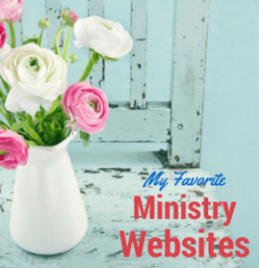 ENCOURAGING Ministry Websites