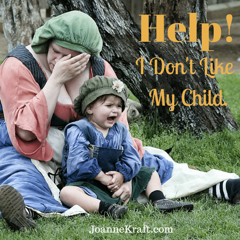 JoanneKraft.com Help- I Dont Like My Child