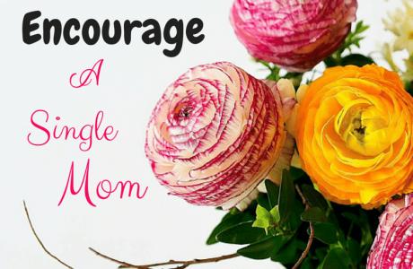 3 Ways to Encourage a Single Mom JoanneKraft.com