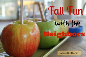 Fall Fun with the Neighbors
