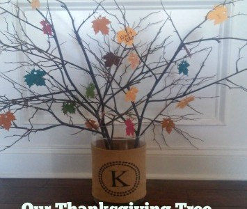 our thanksgiving tree