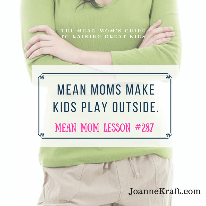 mmg lesson make kids play outside