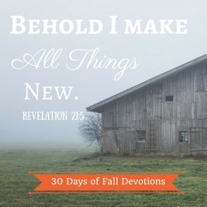 A Restoration Invitation – 30 Days of Fall Devotions