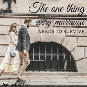 The One Thing Every Marriage Needs To Survive – 30 Days of Fall Devotions