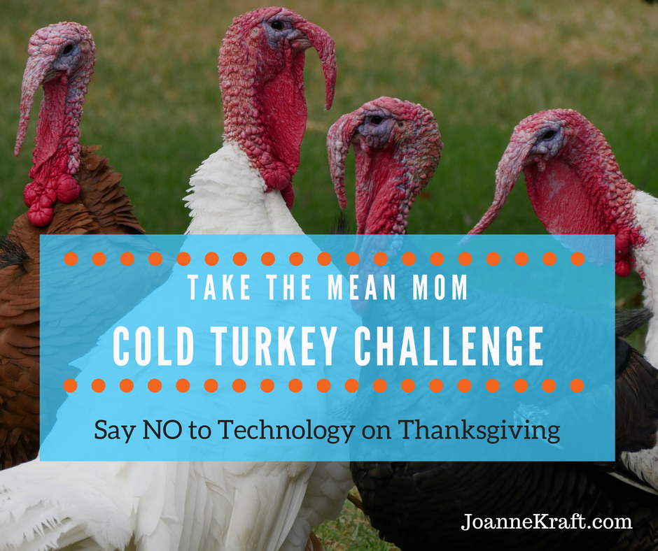 Take the Mean Mom Cellphone Challenge